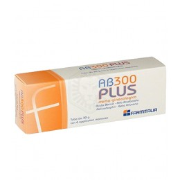 AB 300 PLUS Crema ginecologica 30g con 6 applicatori