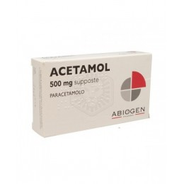 ACETAMOL BAMBINI 500mg 10 Supposte
