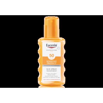 Eucerin Sensitive Protect Sun Spray Transparent SPF 50