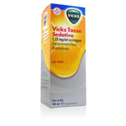 Vicks Tosse Sedativo 180ml Miele