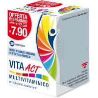 VITA ACT MULTIVITAMINICO 30 COMPRESSE