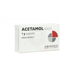 ACETAMOL ADULTI 1g 10 supposte