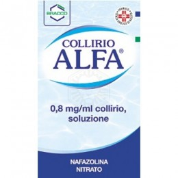 COLLIRIO ALFA collirio 10 ml 0,8 mg/ml