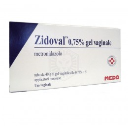 Zidoval 0,75% gel vaginale 40g con 5 applicatori