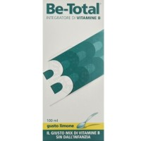Be-Total Sciroppo gusto limone 100ml