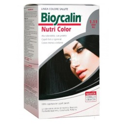 BIOSCALIN NUTRI COLOR 1.11 NERO BLU SINCROB 124 ML