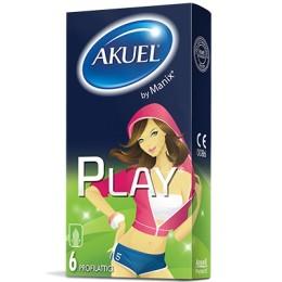 Akuel By Manix Play Profilattici 6 Pezzi