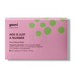 Goovi Age Is Just A Number Ritmo Donna 50+ 40compresse