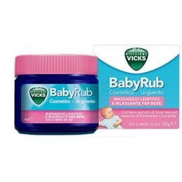 Vicks BabyRub 50g Scadenza 12/2020