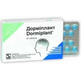 DORMIPLANT*25 cpr riv 160 mg + 80 mg