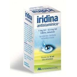 Iridina antistaminico collirio 10+8mg