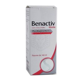 BENACTIV GOLA Collutorio 160 ml 25mg/ml