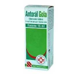 ANTORAL GOLA SPRAY*os spray 15 ml 5 mg/10 ml