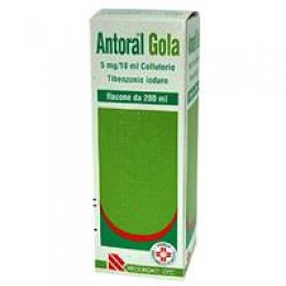 Antoral Gola Collutorio 200ml 100mg