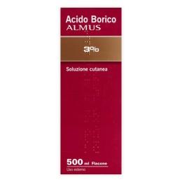 ACIDO BORICO ALMUS*3% 500ML