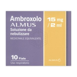 AMBROXOLO ALMUS*NEBUL 10F 15ML