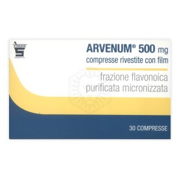 Arvenum 30 Compresse Rivestite 500mg