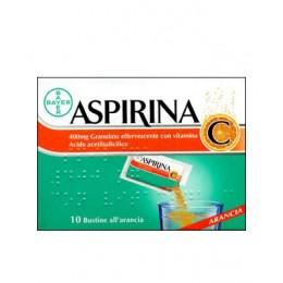 ASPIRINA con Vitamina C 10 bust grat eff 400 mg + 240 mg