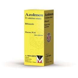 AZOLMEN soluzione cutanea 30 ml 1%