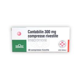 Cantabilin 40 compresse rivestite 300mg