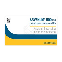 Arvenum 60 Compresse Rivestite 500mg