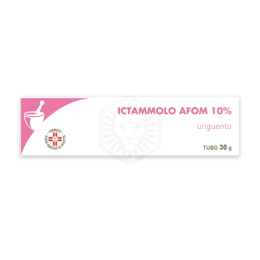 ICTAMMOLO AFOM 10% unguneto 30g
