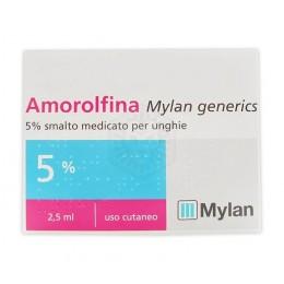 AMOROLFINA (MYLAN GENERICS)*smalto unghie 1 flacone 2,5 ml 5%