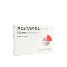 ACETAMOL ADULTI 500mg 20 compresse