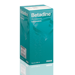 Betadine collutorio 200ml 1%
