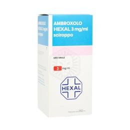 AMBROXOLO HEXAL*SCIR FL 250ML