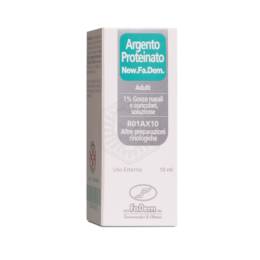 Argento Proteinato New.Fa.Dem ADULTI 1% 10ml