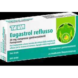EUGASTROL REFLUSSO*14 cpr gastrores 20 mg