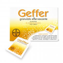 Geffer Granulato Effervescente 24 Bustine 5g