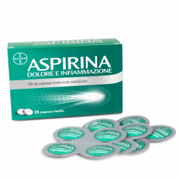 ASPIRINA DOLORE e INFIAMMAZIONE 500mg 20 Compresse